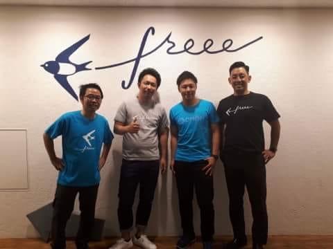 クラウド会計ソフトのfreee訪問!!